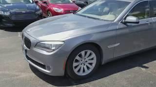 Used Car Lot KNB MOTORS - 2011 BMW 7-Series 750Li PRICE - 18,900$