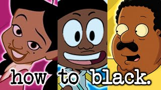 How To BLACK: An Analysis of Black Cartoon Characters (feat. ReviewYaLife)
