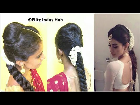 Bridal Hairstyle For Short Medium Hair With Hair Youtube Search