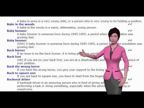Avatar English Lesson 2
