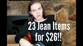 ThredUp Jean Rescue Box Review: $20 DIY Denim Box