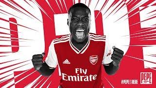 Welcome to Arsenal Nicolas Pepe!