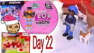 Day 22 ! LOL Surprise - Playmobil - Schleich Animals Christmas Advent Calendar - Cookie Swirl C