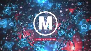 Bacteria Logo Reveal After Effects Template