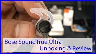 Bose SoundTrue Ultra   Best Sounding Earbuds under $130!