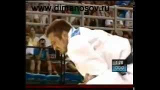 Дмитрий Носов, жесткая борьба за бронзу в Афинах по дзюдо