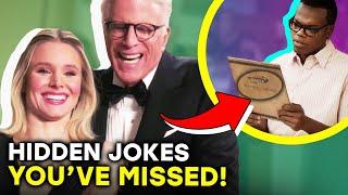 The Good Place: Hilarious Hidden Jokes & Easter Eggs You Never Noticed |⭐ OSSA Radar