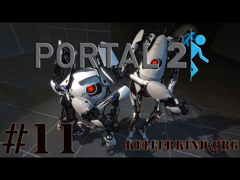 Portal 2 Co-Op [HD] #011 – Zusatzkurse & Metaphern ★ Let's Play Portal 2