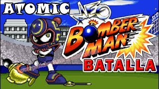 NEO BOMBERMAN MODO BATALLA - ATOMIC
