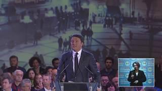 La chiusura della campagna elettorale - Matteo Renzi
