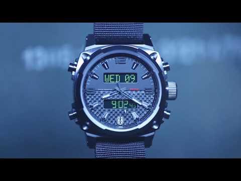 Часы MTM Black Air Stryk II, зелёный НАТО