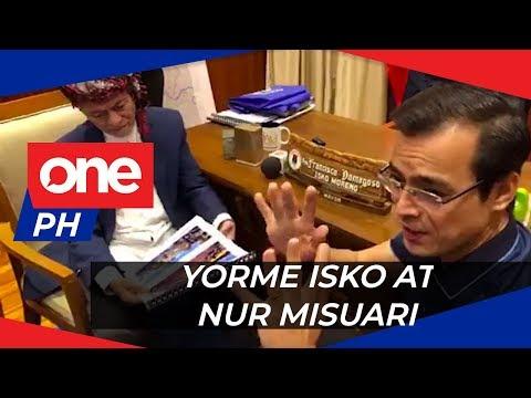 Yorme Isko, binisita ni MNLF Chairman Nur Misuari | WATCH