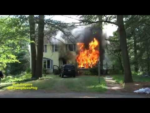 Mendon, Ma pre arrival fatal house fire