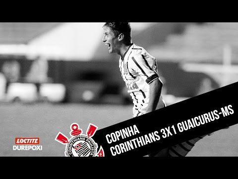 #Copinha | Corinthians 3x1 Guaicurus-MS