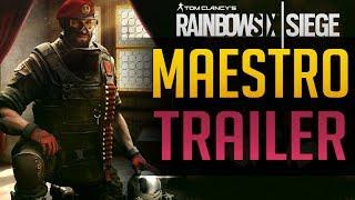 Rainbow Six Siege | MAESTRO TRAILER OFFIZIELL
