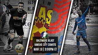 Baltimore Blast vs Kansas City Comets
