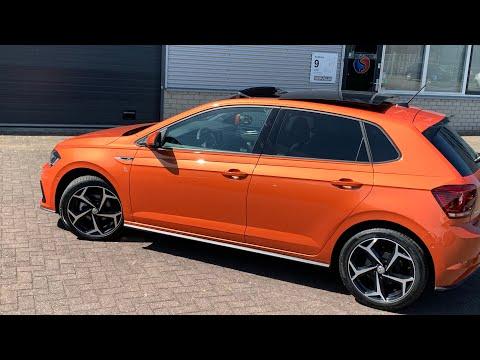 Dutch (NL) review Volkswagen NEW Polo R-line in 4K  Energic Orange  17 inch Bonneville