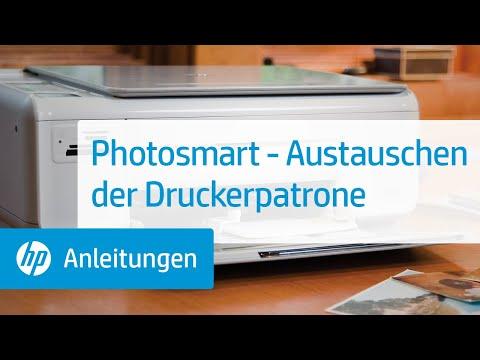 Photosmart - Austauschen der Druckerpatrone