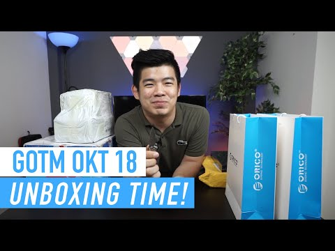 Gadget of The Month Oktober 2018! Unboxing Edition 🔥