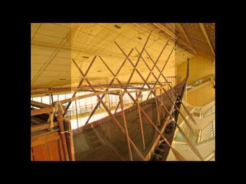 Egypt Cairo Cheops Solar Boat Museum Egypte Cairo Zonnebootmuseum van Cheops