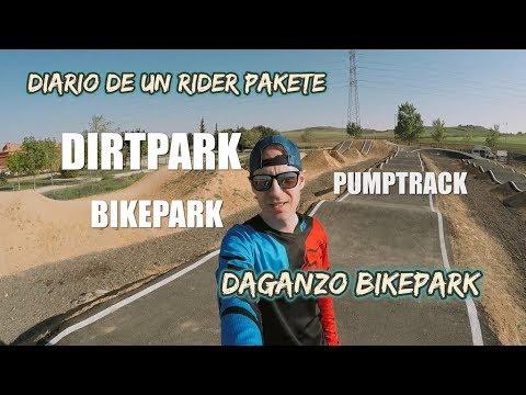 DIARIO DE UN RIDER PAKETE - Madrid Pumptrip: Daganzo Bikepark