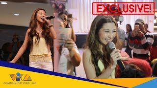 "Donnalyn Bartolome, pinagkaguluhan ng Fans as she sings ""The One That Got Away"""