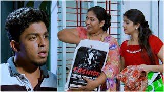 Thatteem Mutteem l EPI - 79  Quarrel between Arjunan and Kamalasanan!