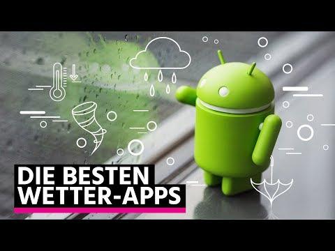 Die besten Wetter-Apps für Android!