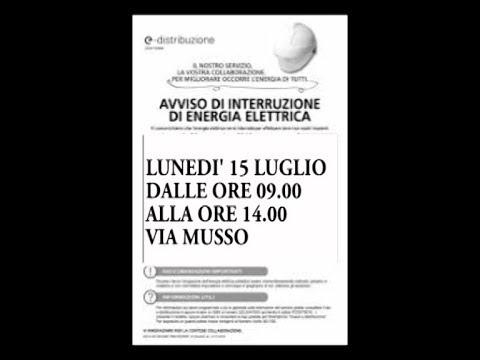 LUNEDI' DALLE 9 ALLE 14 IMPERIA TV NON SARA' IN ONDA PER INTERRUZIONE DI ENERGIA ELETTRICA