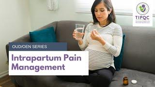 Intrapartum Pain Management