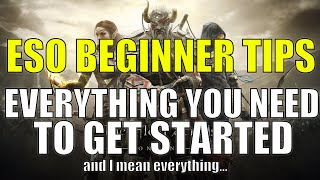 ESO Beginners Guide - EVERYTHING You Need to Know to Get Started