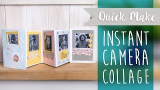 Instant Camera Collage - Sizzix