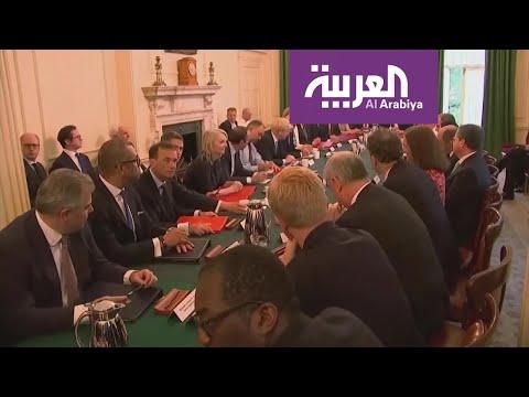 العرب اليوم - شاهد: استقالة مفاجئة لوزير المال البريطاني ساجد جاويد
