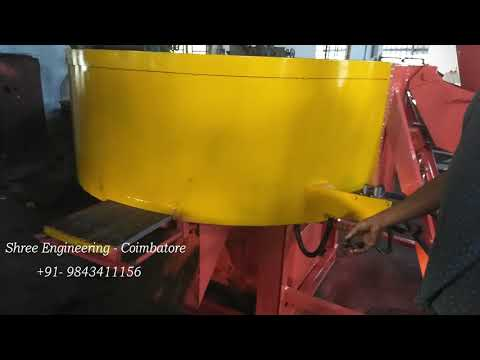 Fly Ash Brick Pan Mixer Machine