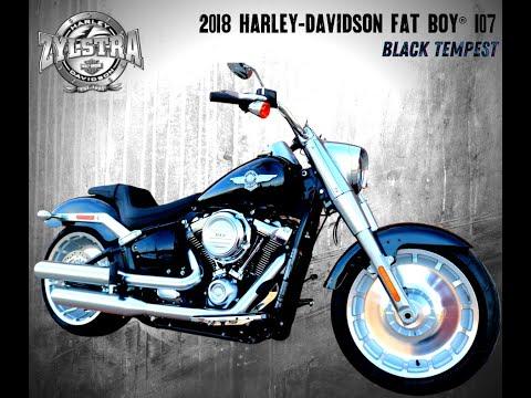 2018 Harley-Davidson Fat Boy® 107 in Ames, Iowa - Video 1
