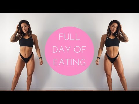 WHAT I EAT IN A DAY TO STAY LEAN & GAIN MUSCLE - FULL DAY OF EATING!