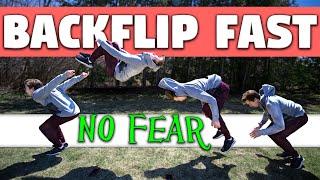 How to do a Backflip! Learn Backflip FAST Tutorial