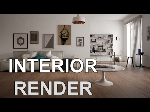 3Ds MAX Tutorial – How to Render Realistic Scene