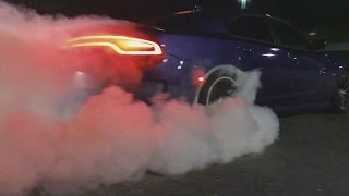 Charger Scatpack Blows Up