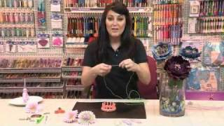 How to Create Craft Flowers and Jewelry with DMC Memory Thread | www.DMC-USA.com
