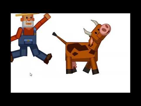 корова пёрнула на фермера он чут не улетел в космос а когда преземлился палетел в сарай.