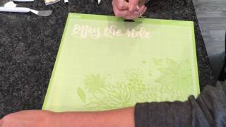 Bridal Shower- With the Cricut Essential tool set