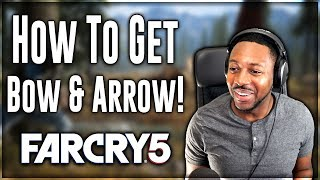 Far Cry 5  Gameplay ∙ How To Get Bow And Arrow Early! [FC5 Tips] Sunken Funds
