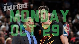NBA Daily Show: Oct. 29 - The Starters