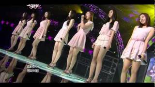 110422 A Pink - Wishlist | Debut Stage, LIVE @ Music Bank