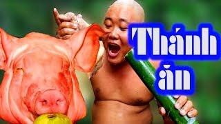 THỬ ĂN ĐẦU HEO 4KG và CÁI KẾT SẼ NTN | Thánh Ăn Đầu Trọc - Sơn Dược Vlogs