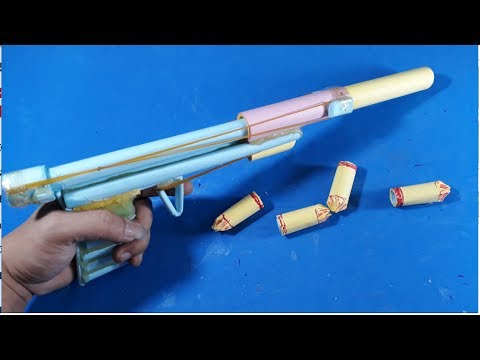 How to Make a Paper ShotGun that Shoots - Simple life Hacks 2017-[Piece of Paper]