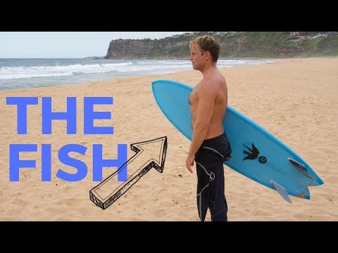 THE FISH EXPERIMENT: Surfing A Twin For A Week
