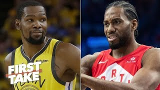 Who is the more clutch Finals player: KD or Kawhi? | First Take