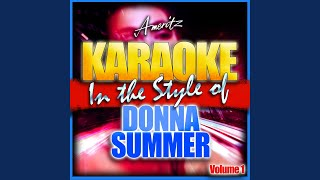 Rumour Has It (In the Style of Donna Summer) (Karaoke Version)